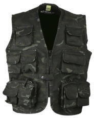 Kombat Kids Tactical Vest – BTP Black image