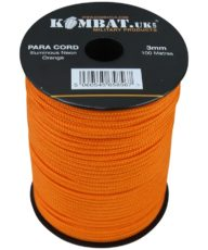 Paracord – 100m Reel – Neon Orange image