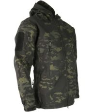 Kombat PATRIOT Tactical Soft Shell Jacket – MT Black image