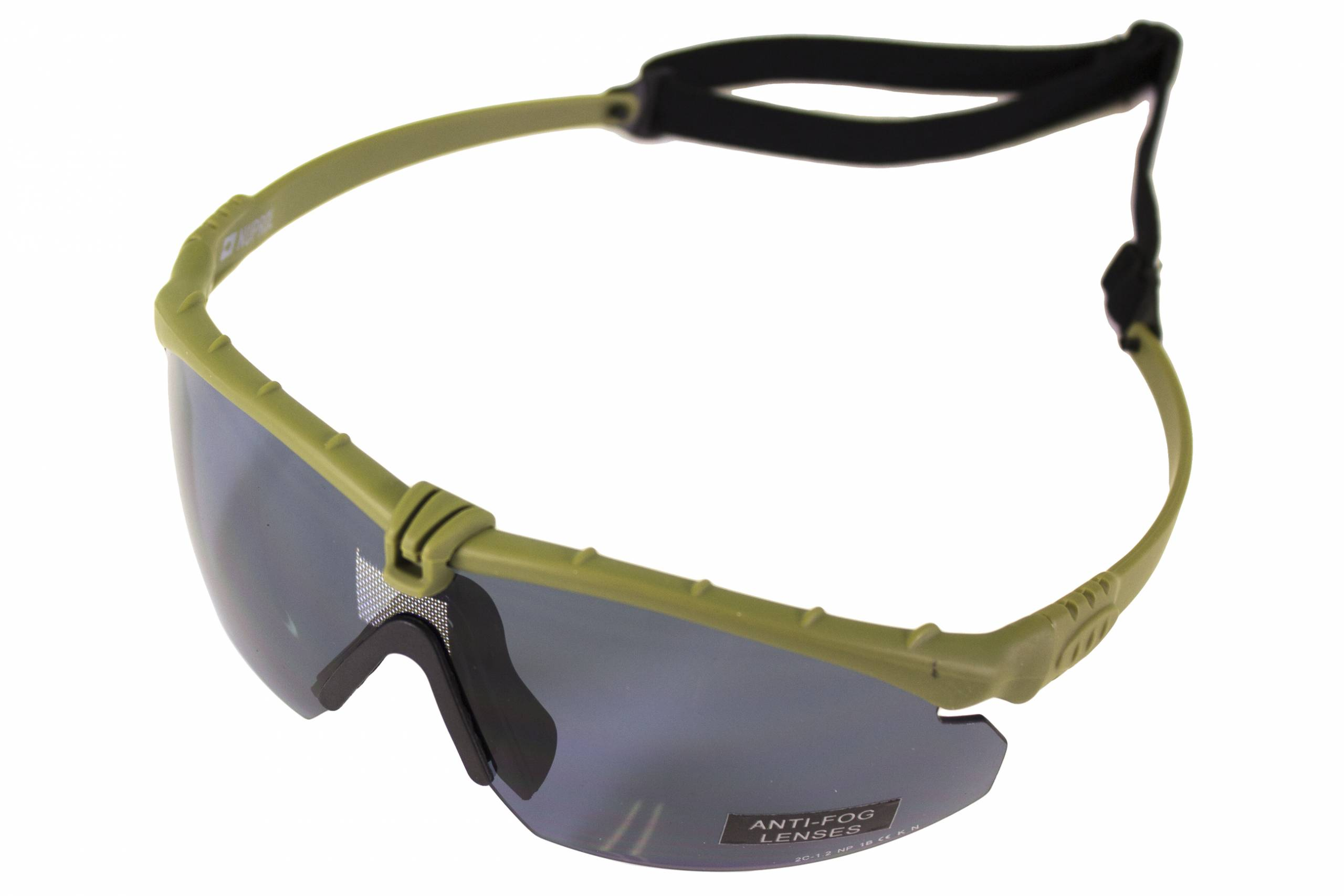 NUPROL BATTLE PRO'S – GREEN FRAME / SMOKED LENSE W/INSERT product image