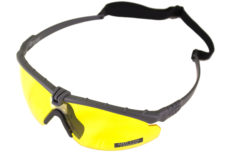 NUPROL BATTLE PRO'S – GREY FRAME / YELLOW LENSE W/INSERT image