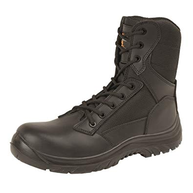 Grafters 'Infantry' Combat Boot with Side Zip product image