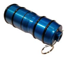 Cybergun Typhoon Grenade Aluminum Bleu image