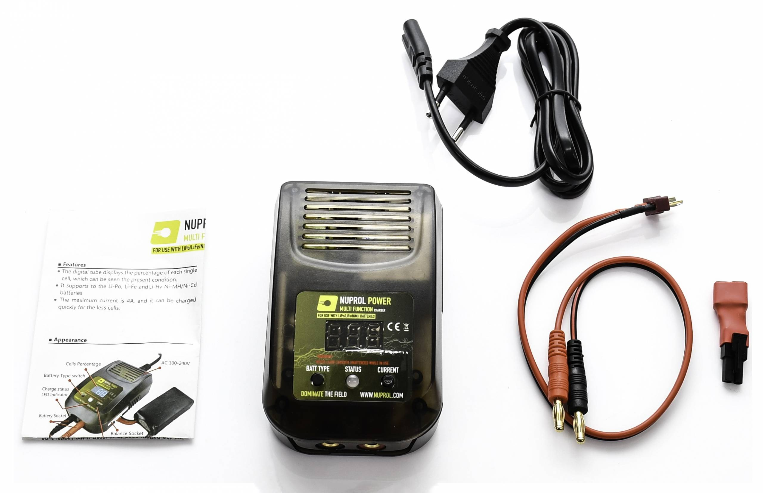 NUPROL MULTI FUNCTION CHARGER product image