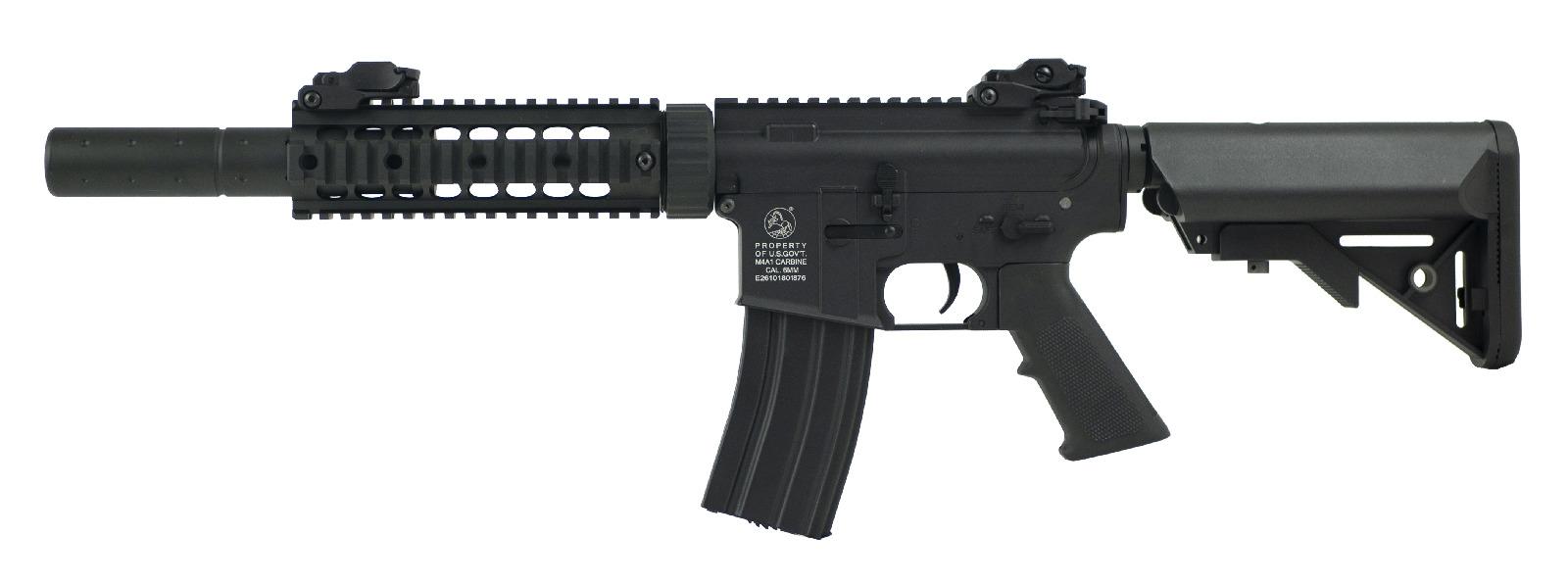 Colt M4 Silent ops Black full metal product image