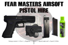 PISTOL HIRE  FULL PRICE REQUIRED DUE TO COVID 19 £15 image