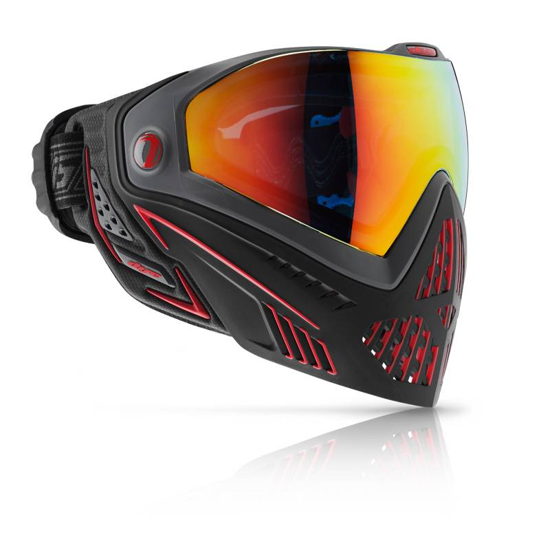 Dye Goggle i5 FIRE Black-Red product image