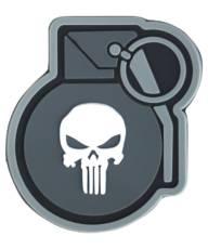 Kombat Punisher Grenade Patch image