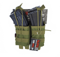 NUPROL PMC AK Double Open Mag Pouch – Green image