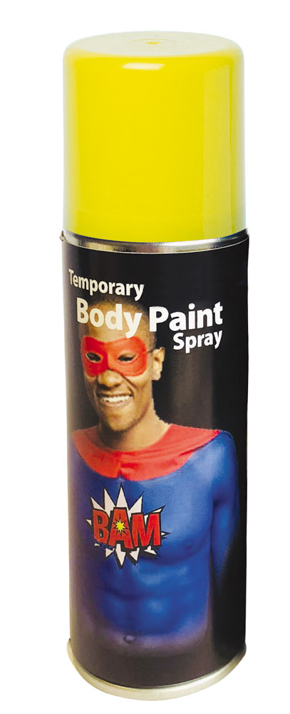 Yellow Body Spray Makeup (125ml) product image
