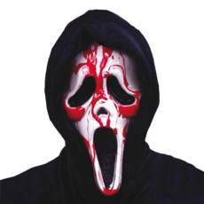 Ghost Face Bleeding Scream Mask image