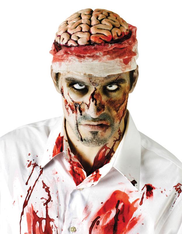 Zombie Bloody Brain Headpiece product image
