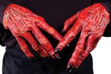 Palmer Devil Halloween Hands image