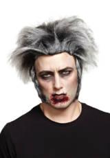 Grey Wolfman Wig image