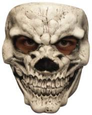 Palmer White Skull Face Mask image