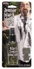 BLACK ZOMBIE BLOOD SPRAY image