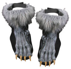 Werewolf Silver Shoe Covers image