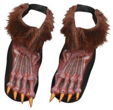 Werewolf Brown Shoe Covers image
