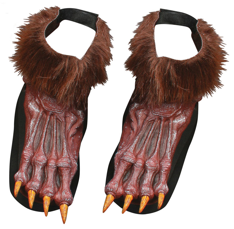 Werewolf Brown Shoe Covers product image
