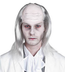 White Zombie Wig image
