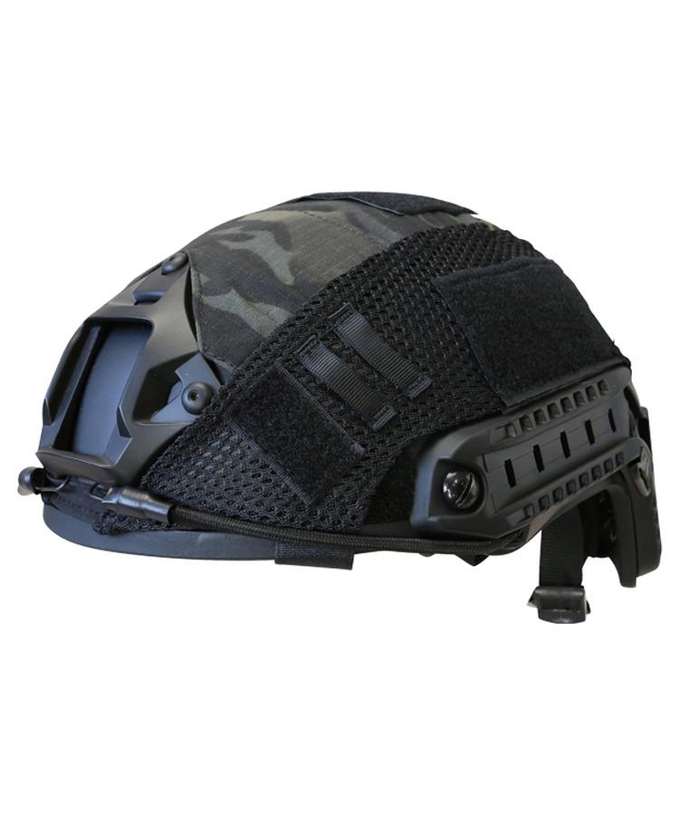 Fast Helmet Cover – Multi-Terrain Black product image