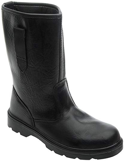 Grafters Safety Rigger Boot BLACK product image