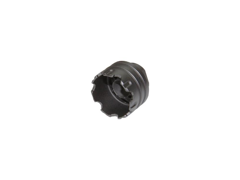 G&G BATTLE WHEEL METAL AMPLIFIER – BLACK (14MM CCW) product image