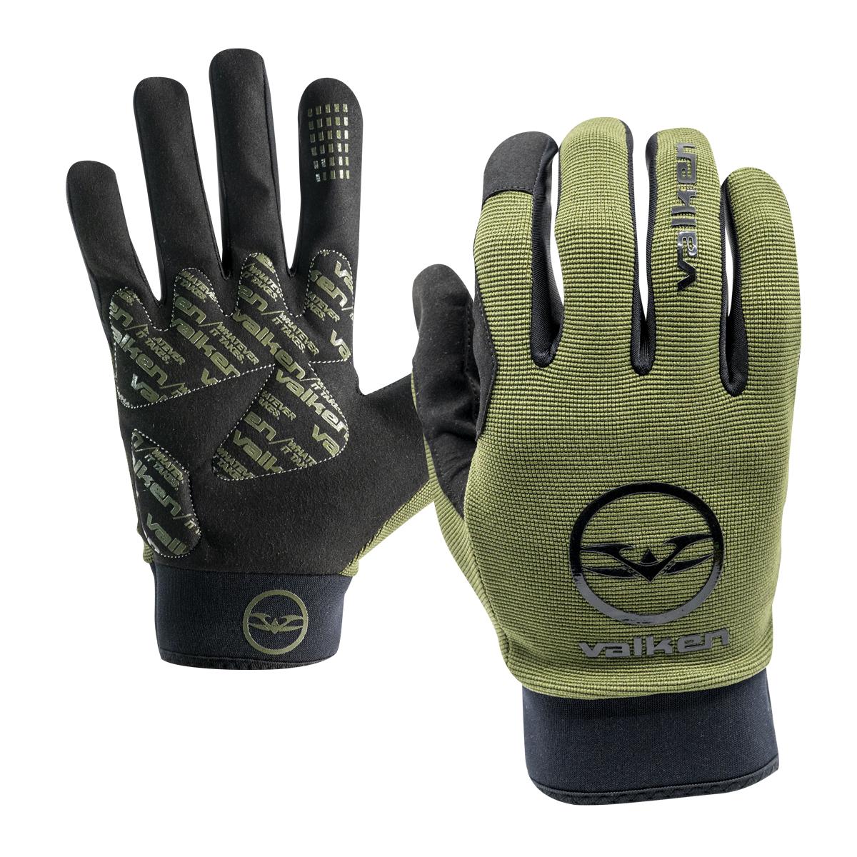 Valken Bravo Full Finger Gloves Olive product image