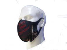KEEP YOUR DISTANCE Protective Face Masks image