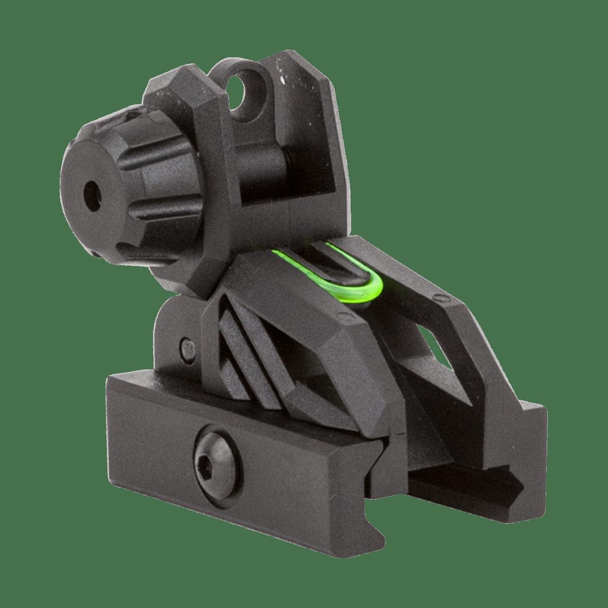 VALKEN FOLDING REAR SIGHT BLACK/NEON product image
