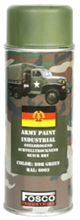 FOSCO SPRAY ARMY PAINT 400 ML. – DDR GREEN product image