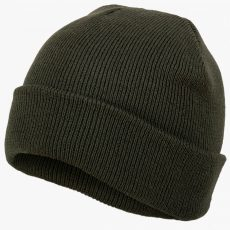 Deluxe Watch Hat IN OLIVE GREEN OR BLACK image
