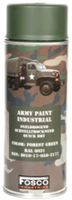 FOSCO SPRAY ARMY PAINT 400 ML. – FOREST GREEN product image