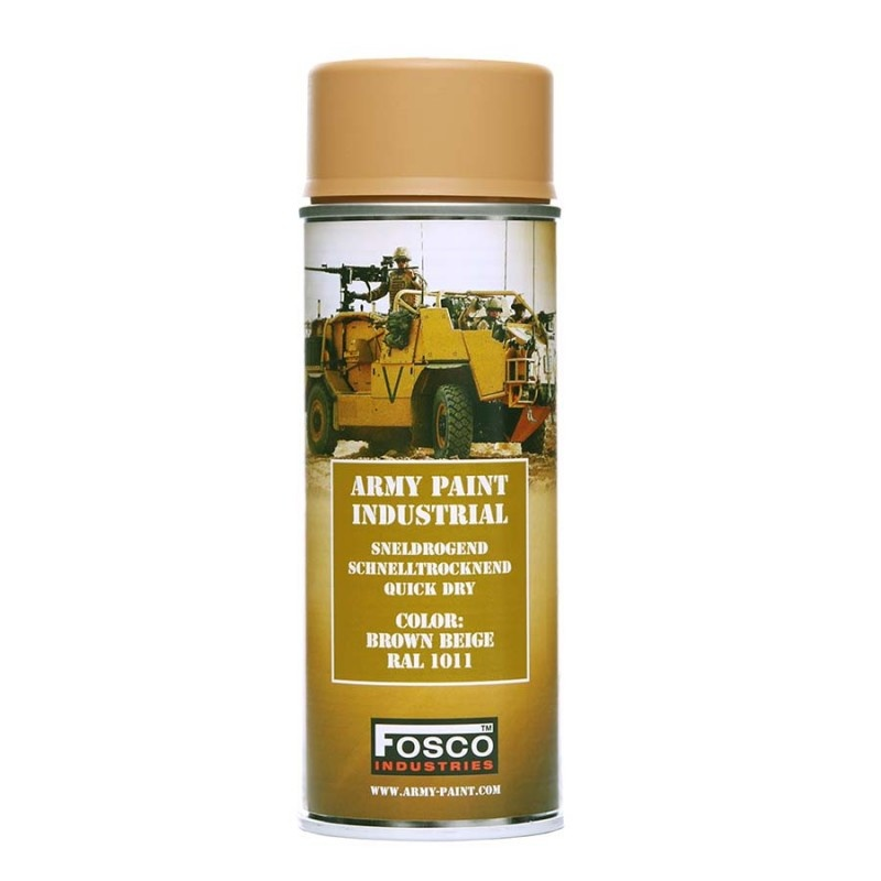 FOSCO SPRAY ARMY PAINT 400 ML. – BROWN BEIGE product image