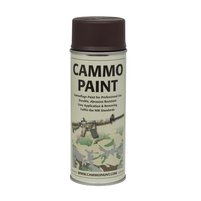 GLOMEX CAMMO PAINT – DARK BROWN (RAL 8027) product image