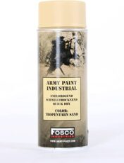 FOSCO SPRAY ARMY PAINT 400 ML – TROPENTARN SAND image