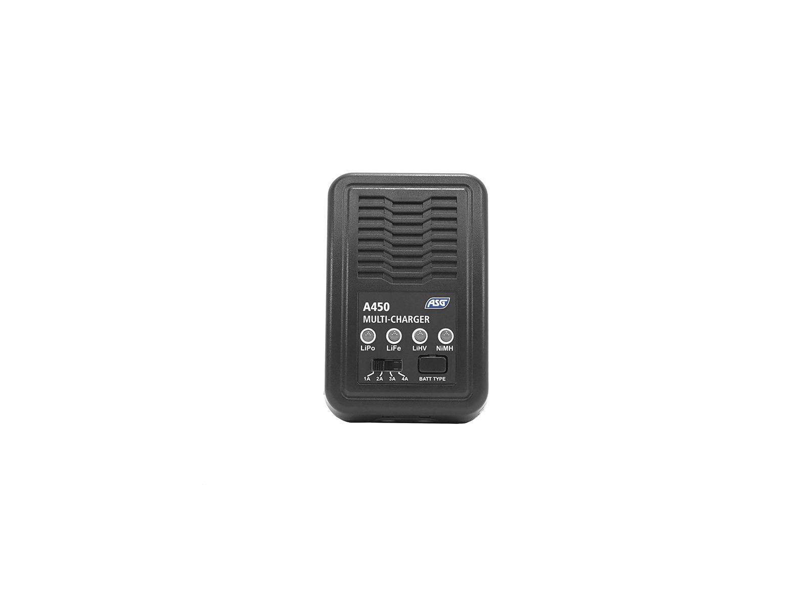 ASG A450 Charger – LiPo NiMH LiFe LiHV, UK plug product image