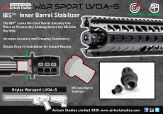 Airtech Advanced IBS-INNER BARREL STABILIZER For KRYTAC LVOA-S image