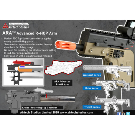 Airtech Advanced Rhop Arm For Krytac rotary hop product image