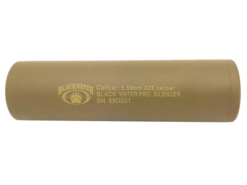 CCCP BW Silencer (Full Metal – 110mm in Length – Plain – Tan) product image