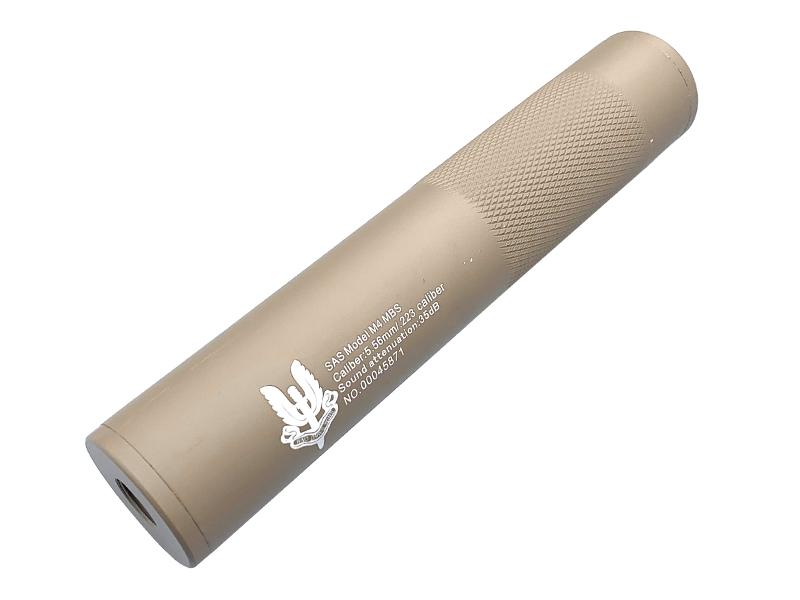 CCCP SAS M4 Silencer (Full Metal – 190mm in Length – Tan) product image