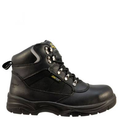 Black Action Leather/Nylon Safety boot product image