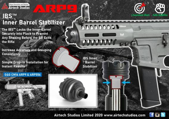 Airtech INNER BARREL STABILIZER G&G ARP 9 product image